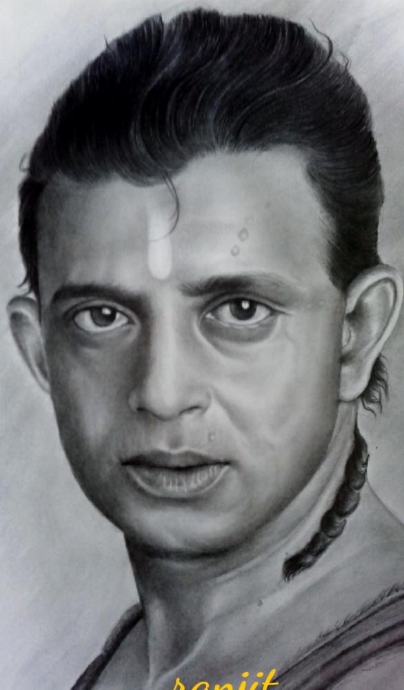 Mithun Chakraborty par ranju
